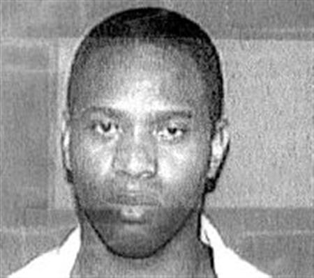 Carl Henry Blue is seen in an undated handout photo from the Texas Department of Criminal Justice. The state of Texas is preparing to execute Blue for killing his former girlfriend in 1994 by dousing her with gasoline and setting her on fire. REUTERS/Texas Department of Criminal Justice/Handout