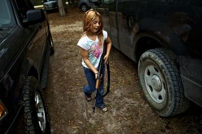 Training child survivalists