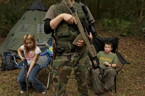 Training child survivalists