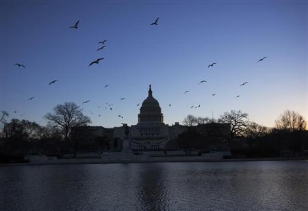 The U.S. Capitol building is seen in Washington January 20, 2013. REUTERS/Shannon Stapleton