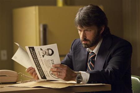 Actor Ben Affleck is shown in a scene from his film ''Argo'' in this publicity photo released to Reuters February 21, 2013. REUTERS/Claire Folger/Warner Bros Entertainment/Handout