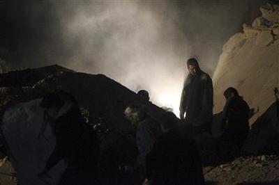 Rockets hit Aleppo, killing at least 29: monitor