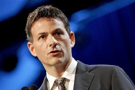 David Einhorn, President of Greenlight Capital, speaks at the 6th Annual New York Value Investing Congress in New York City in this file photo from October 13, 2010. REUTERS/Mike Segar/Files