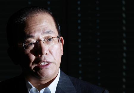 Daiwa Institute of Research Chairman and former Bank of Japan Deputy Governor Toshiro Muto speaks during an interview with Reuters in Tokyo September 11, 2012. REUTERS/Yuriko Nakao