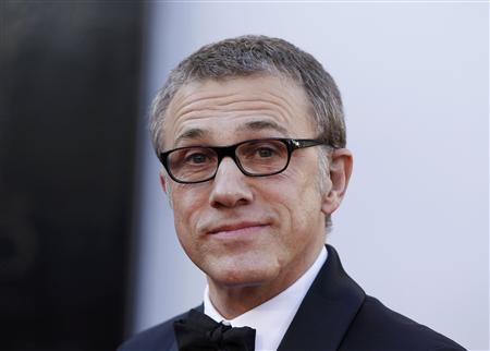 Christoph Waltz, best supporting actor nominee for his role in ''Django Unchained'', arrives at the 85th Academy Awards in Hollywood, California February 24, 2013. REUTERS/Lucas Jackson