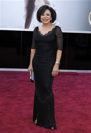 Dame Shirley Bassey arrives at the 85th Academy Awards in Hollywood, California February 24, 2013. REUTERS/Lucas Jackson