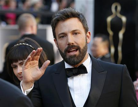 Argo director Ben Affleck arrives at the 85th Academy Awards in Hollywood, California February 24, 2013. REUTERS/Adrees Latif