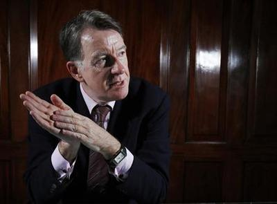 EU gamble risks killing UK's ''golden goose'': Mandelson