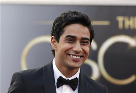 Actor Suraj Sharma, of the film ''Life of Pi'', arrives at the 85th Academy Awards in Hollywood, California February 24, 2013. REUTERS/Lucas Jackson/Files