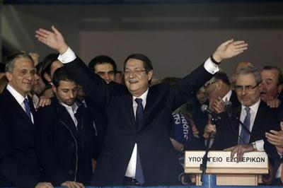 After election win, Anastasiades tackles Cyprus...