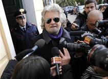 Il comico e leader del M5S Beppe Grillo. REUTERS/Giorgio Perottino
