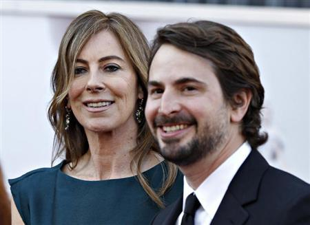 Director Kathryn Bigelow and screenwriter Mark Boal of ''Zero Dark Thirty'', which is nominated for Best Picture Oscar, arrive at the 85th Academy Awards in Hollywood, California February 24, 2013. Both Bigelow and Boal are also producers for the film. REUTERS/Lucas Jackson