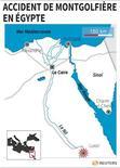 ACCIDENT DE MONTGOLFIÈRE EN ÉGYPTE
