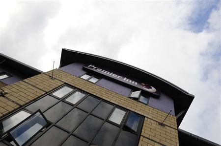 A Premier Inn hotel is seen in Leeds, northern England, October 13, 2008. REUTERS/Nigel Roddis