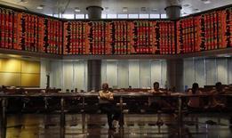 Un'immagine della Borsa di Kuala Lumpur. REUTERS/Bazuki Muhammad