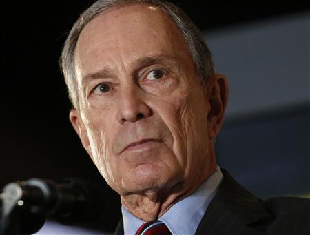 New York City Mayor Michael Bloomberg speaks during his final State of the City speech at the Barclay's Center in Brooklyn, New York, February 14, 2013. REUTERS/Brendan McDermid