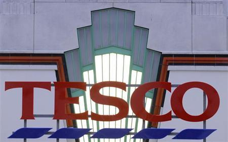 A Tesco supermarket is seen in west London December 1, 2008. REUTERS/Toby Melville