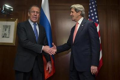 Russia wants U.S. to urge Syria rebels into peace...