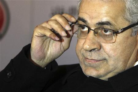 Former presidential candidate and founder of the Egyptian Popular Current movement Hamdeen Sabahy and member of Egypt's opposition coalition attends a news conference in Cairo December 23, 2012. REUTERS/Amr Abdallah Dalsh