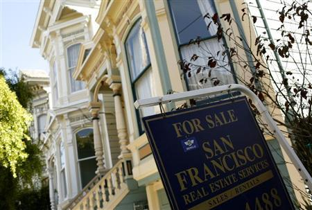 A home for sale in San Francisco, August 24, 2010. REUTERS/Robert Galbraith