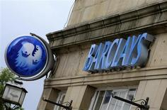 A branch of Barclays bank is seen in Boroughbridge, northern England June 4, 2009. REUTERS/Nigel Roddis
