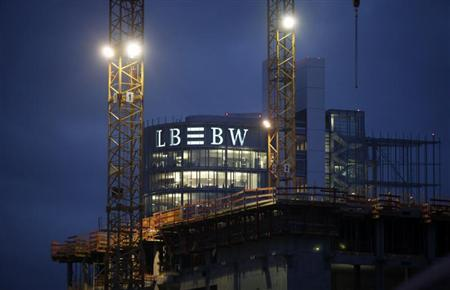 The headquarters of Germany's biggest landesbank, LBBW, are pictured in Stuttgart December 7, 2009. REUTERS/Johannes Eisele