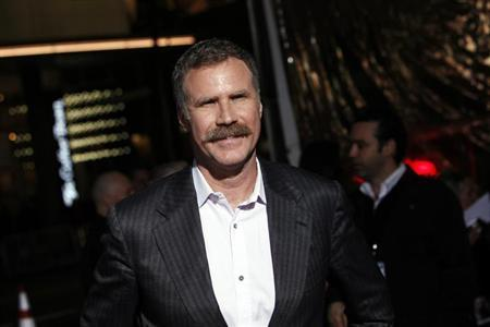 Producer and actor Will Ferrell arrives at the premiere of the film ''Hansel and Gretel: Witch Hunters'' at Grauman's Chinese Theatre in Hollywood, California January 24, 2013. REUTERS/Patrick Fallon