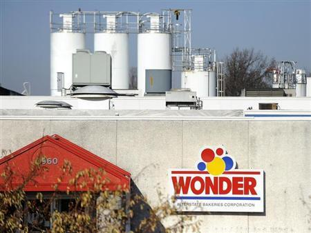 A bakery outlet is still open for business in front of the now-closed Wonder Bread bakery in Lenexa, Kansas, November 16, 2012. REUTERS/Dave Kaup