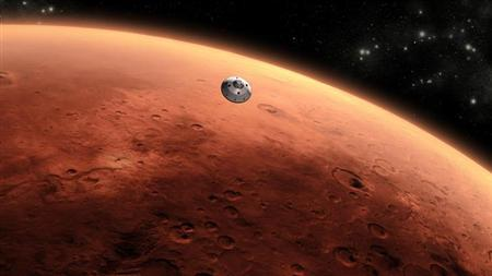 An artist's concept of NASA's Mars Science Laboratory spacecraft approaching Mars. REUTERS/ NASA/JPL-Caltech/Handout/Files