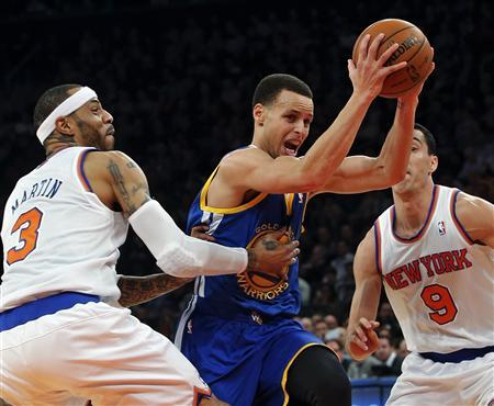 Hot Curry throws up 54 in loss to Knicks