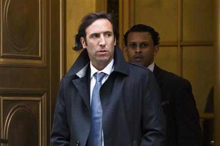 Argentina's Economy Minister Hernan Lorenzino leaves the U.S. Appeals Court in New York February 27, 2013. REUTERS-Andrew Burton