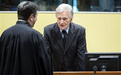 Ex-Yugoslav army leader acquitted of war crimes