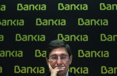 Bankia Chairman Jose Ignacio Goirigolzarri attends a news conference in Madrid February 28, 2013. REUTERS/Juan Medina