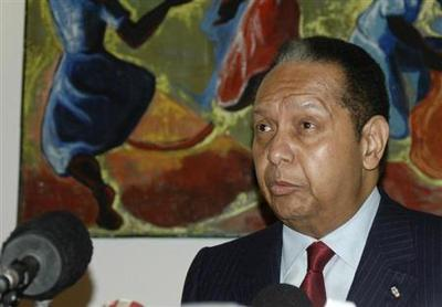 Haiti's Duvalier finally in court to face abuse of power charges