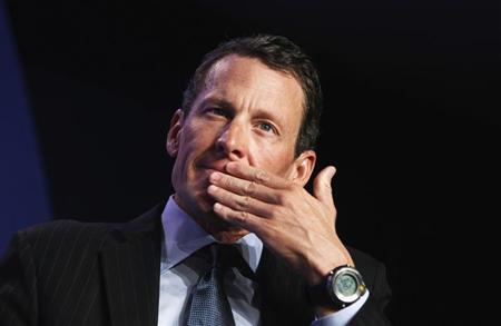Lance Armstrong, founder of the LIVESTRONG foundation, takes part in a special session regarding cancer in the developing world during the Clinton Global Initiative in New York in this file photo taken September 22, 2010. REUTERS/Lucas Jackson