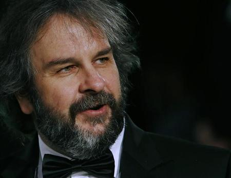 Director Peter Jackson arrives for the royal premiere of his film ''The Hobbit - An Unexpected Journey'' in central London December 12, 2012. REUTERS/Luke MacGregor