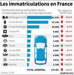LES IMMATRICULATIONS EN FRANCE