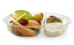 A McDonald's Snack Size Fruit & Walnut Salad in an image courtesy of the company. REUTERS/McDonald's