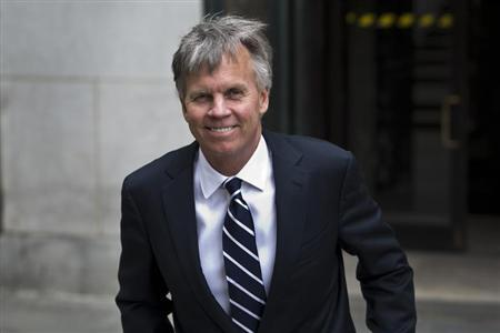 Ron Johnson, CEO of J.C. Penney, leaves the New York State Supreme Court in New York, March 1, 2013. REUTERS/Andrew Burton