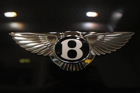 The logo of a Bentley car is pictured during a press presentation prior to the Essen Motor Show in Essen November 30, 2012. REUTERS/Ina Fassbender