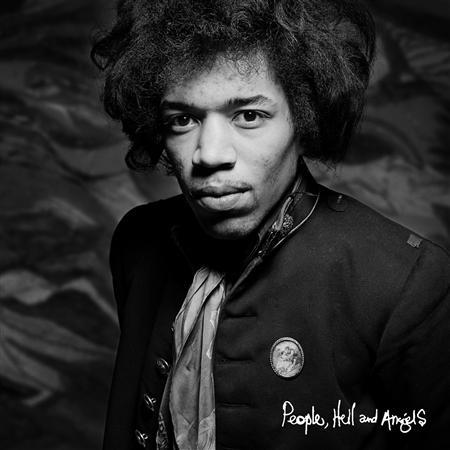 The cover of the Jimi Hendrix album ''People, Hell and Angels'' is pictured in this handout photo courtesy of Experience Hendrix LLC and Legacy Recordings. REUTERS/Experience Hendrix LLC and Legacy Recordings/Handout