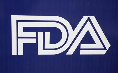 The corporate logo of the Food and Drug Administration (FDA) is shown in Silver Spring, Maryland, November 4, 2009. REUTERS/Jason Reed