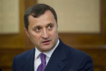 Prime Minister of Moldova Vlad Filat looks on during a meeting with his Swedish counterpart Fredrik Reinfeldt (not pictured) at the government headquarters in Stockholm September 13, 2011. REUTERS/Fredrik Sandberg