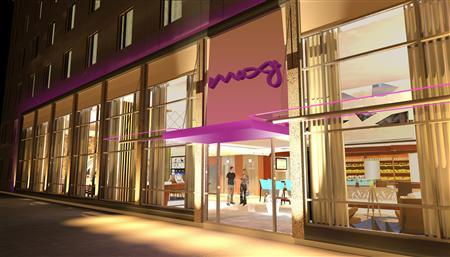 An artist rendition shows one of the Moxy hotels in this undated handout image. REUTERS/Moxy Hotels/Handout