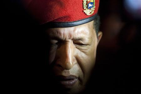 Venezuela's President Hugo Chavez arrives at the international airport in Cancun in this February 21, 2010 file photo. REUTERS/Gerardo Garcia/Files