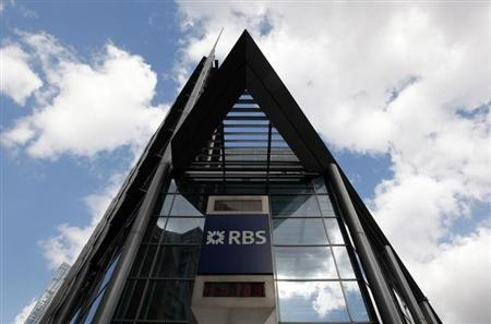 A Royal Bank of Scotland building in London April 7, 2009. REUTERS/Stephen Hird/Files