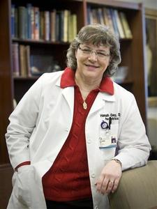 Dr. Hannah Gay is pictured in this undated handout photo courtesy of the University of Mississippi Medical Center. Gay, the doctor who cured an HIV infected baby for the first time is happier talking to children than to adults and is finding all the attention since the news came out a little overwhelming. REUTERS/University of Mississippi Medical Centre/Handout
