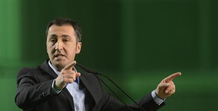 German Green Party co-leader Cem Oezdemir delivers his speech at the party convention of the Green Party in Hanover, November 16, 2012. REUTERS/Fabian Bimmer
