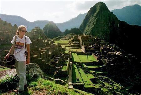 File photo of the Inca citadel Machu Picchu in the Andean city of Cusco.