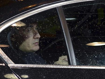 Croatia's Prime Minister Zoran Milanovic arrives at the EU council headquarters for a European Union leaders summit meeting to discuss the European Union's long-term budget in Brussels February 7, 2013. REUTERS/Laurent Dubrule